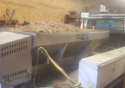 Sand mixer machine